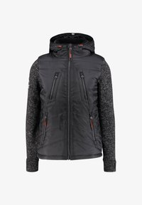 Superdry - STORM HYBRID  - Soft shell jacket - black - 0