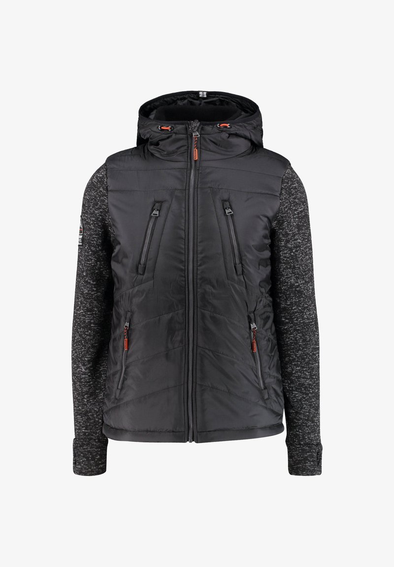 Superdry - STORM HYBRID  - Soft shell jacket - black