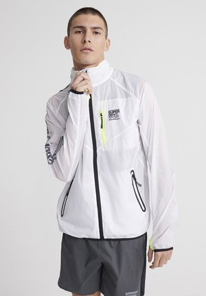 SUPERDRY TRAINING FLYWEIGHT JACKET - Trainingsjacke - optic