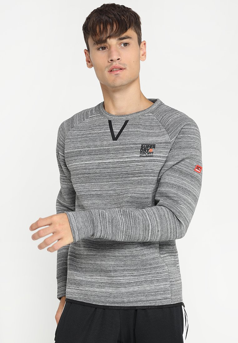 Superdry - GYM TECH CREW - Sweater - gravel marl