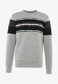 Superdry - GYM TECH - Sweatshirt - city grey granite/black - 4