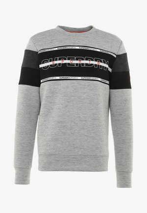 GYM TECH - Bluza - city grey granite/black