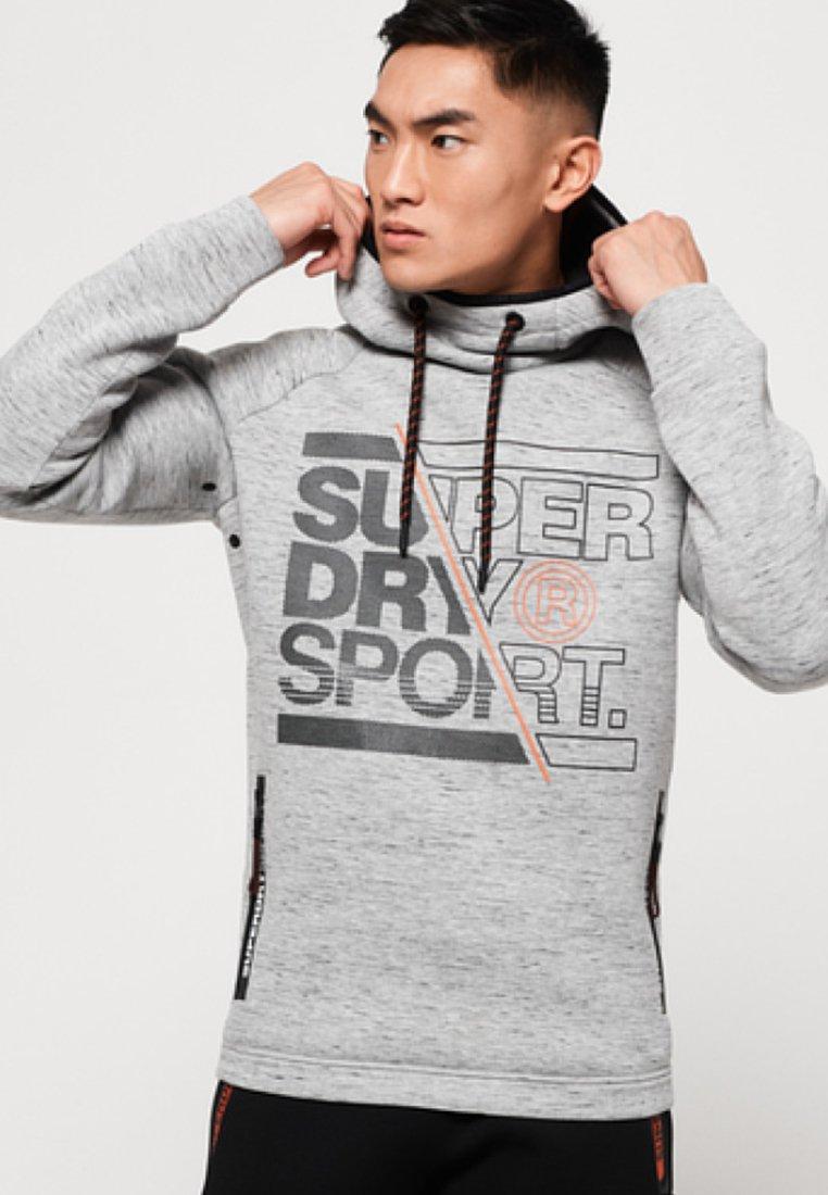 CapucheMottled Grey Sweat À Superdry CapucheMottled Superdry À Sweat b7Yf6gvy
