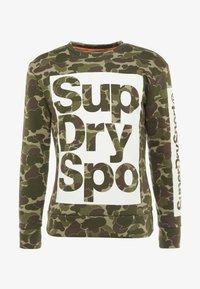 Superdry - COMBAT BOXER CREW - Sweater - dark green - 3