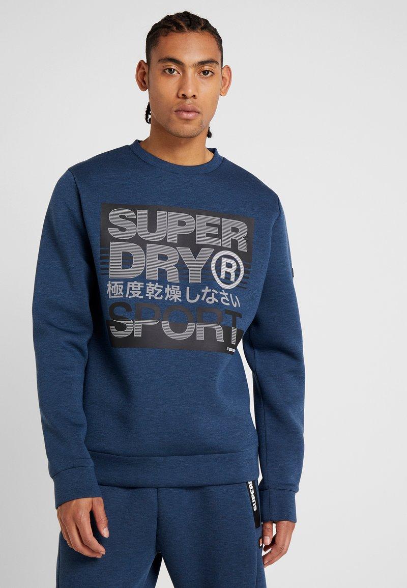 Superdry - CORE GYM TECH CREW - Sweatshirt - deep teal