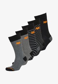 Superdry - 5 PACK - Chaussettes - black - 0