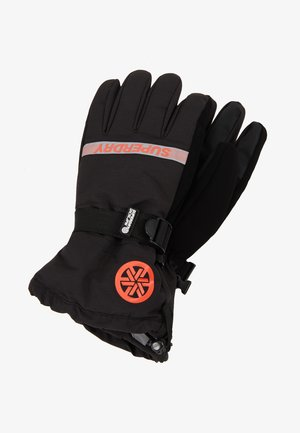 ULTIMATE SNOW RESCUE GLOVE - Sormikkaat - onyx black