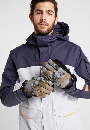 ULTIMATE SNOW RESCUE GLOVE - Handschoenen - black/grey/brown
