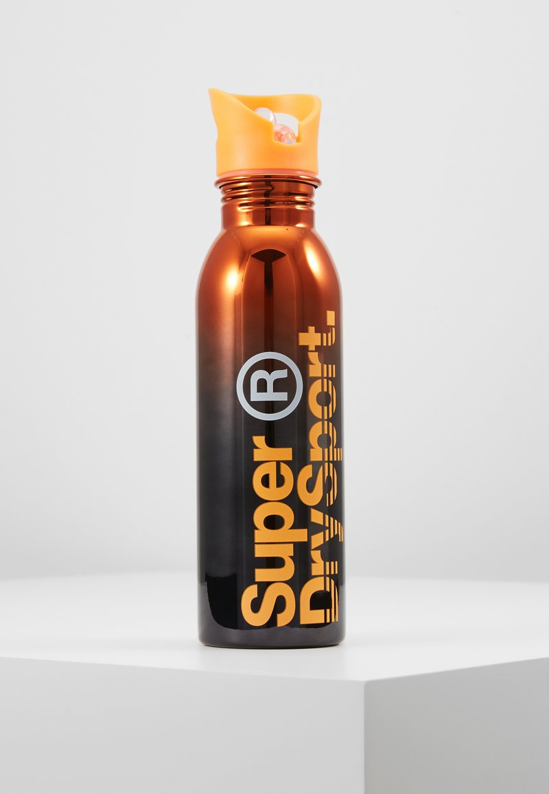 Superdry - Cantimplora - black orange gradient