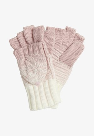 Mittens - sandy pink ombre