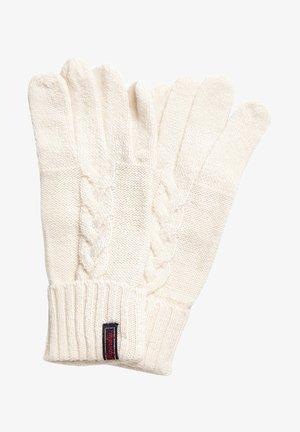 Gloves - off-white