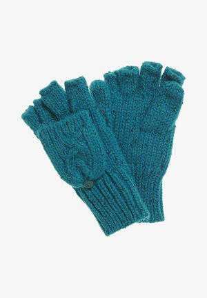 GRACIE  - Fingerless gloves - teal