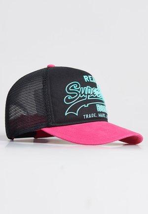 SUPERDRY PREMIUM GOODS OUTLINE CAP - Casquette - fluro pink