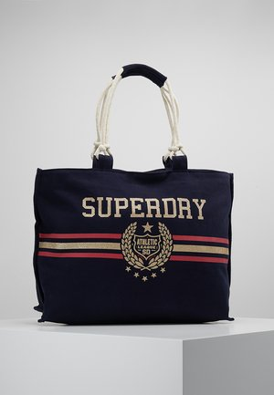 AMAYA ROPE TOTE - Shopper - crest navy