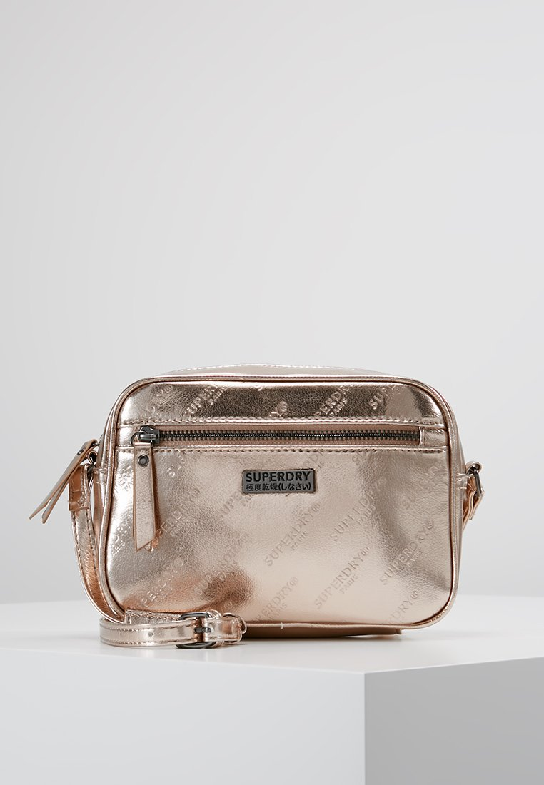 Superdry - DELWEN CROSSBODY - Across body bag - rose gold