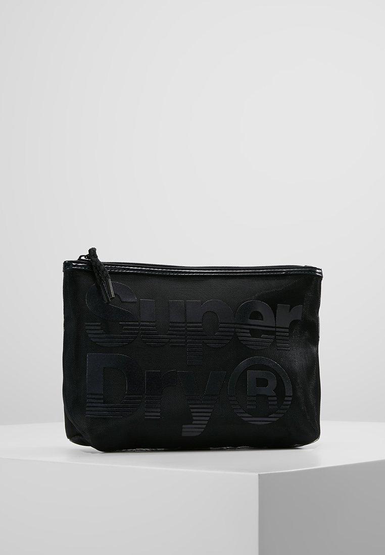 Superdry - COSMETIC BAG - Kosmetiktasker - black