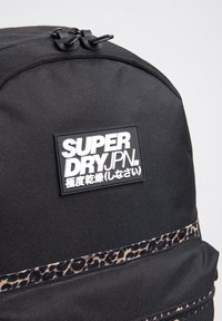Superdry - SUPERDRY BLOCK EDITION MONTANA RUCKSACK - Rugzak - black - 3