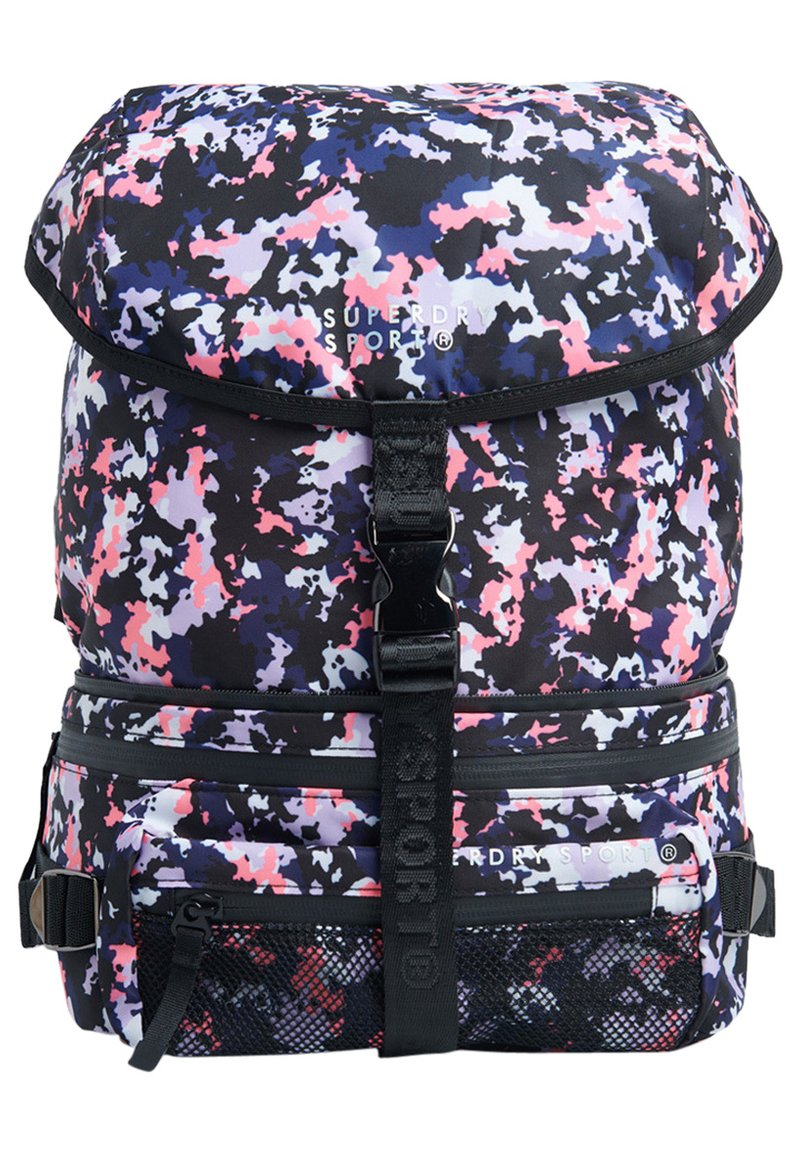 Superdry - SUPERDRY CONVERTIBLE SPORT BACKPACK - Reppu - ink ticking