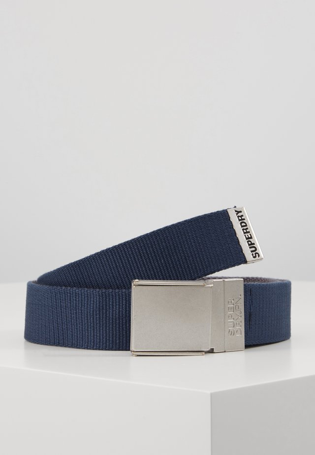 REVERSIBLE BELT - Belt - downhill blue