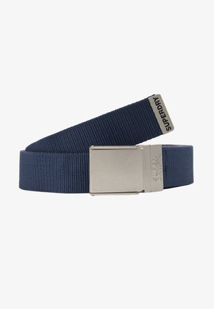 REVERSIBLE BELT - Ceinture - downhill blue