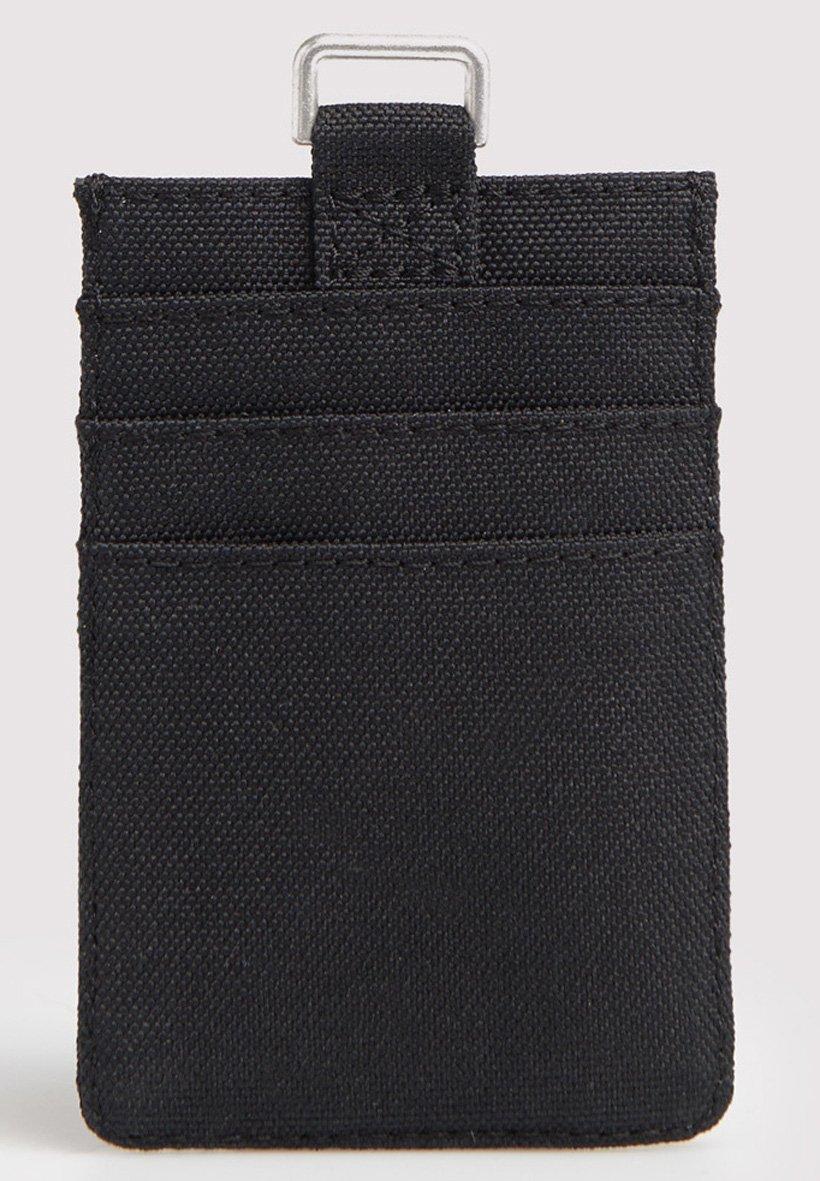 Superdry Fabric Card Wallet - Étui Pour Cartes De Visite Black