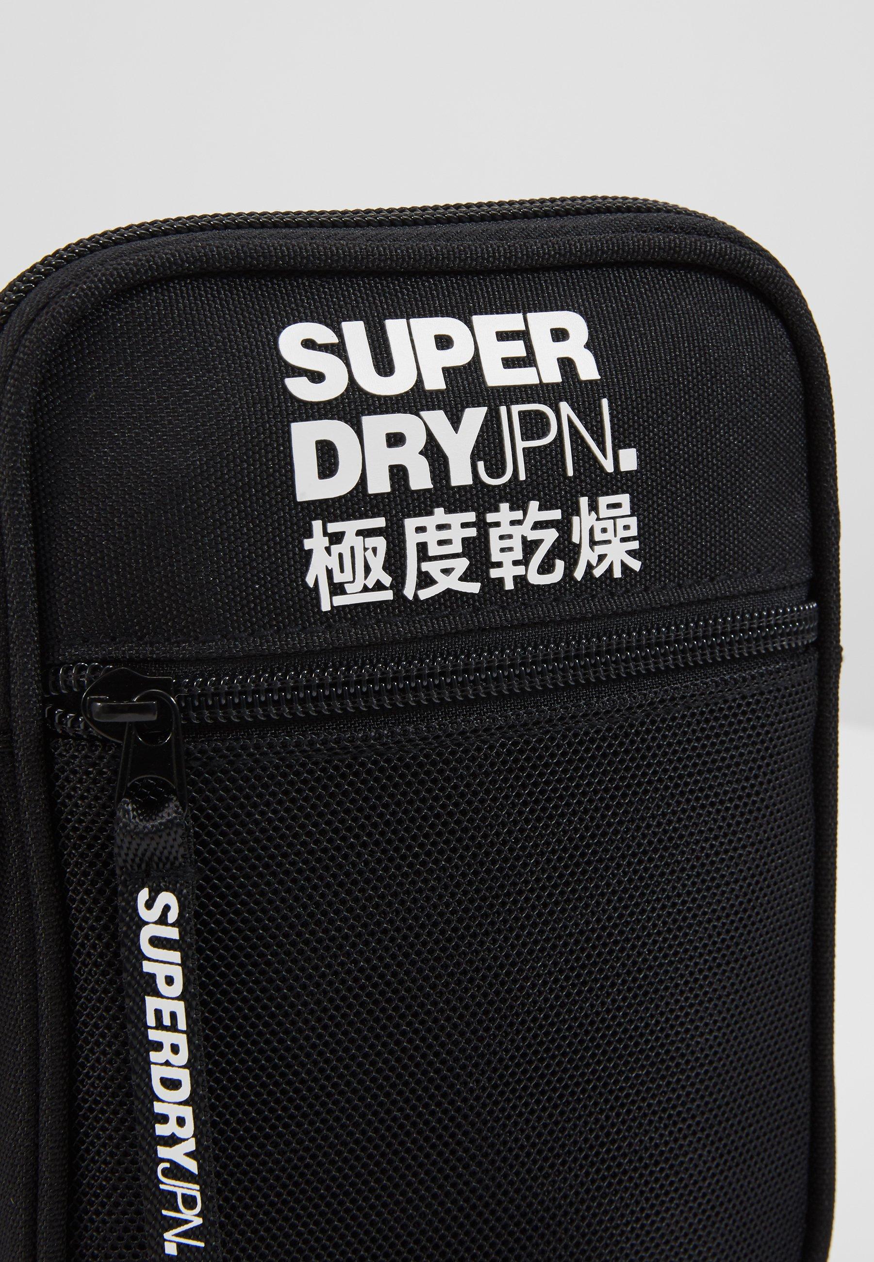 Superdry SPORT POUCH - Borsa a tracolla - black