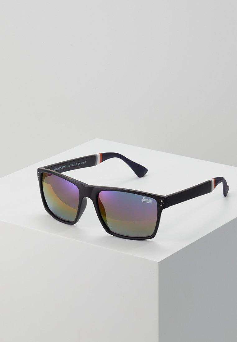 Superdry - YAKIMA - Aurinkolasit - matte black/triple fade revo