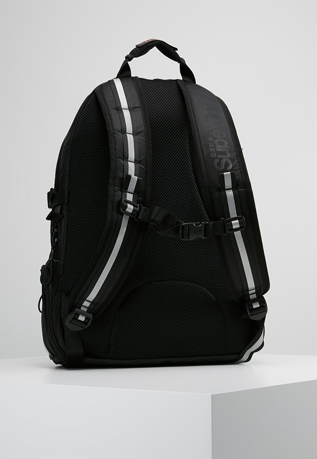 LINE TARP BACKPACK - Rucksack - black