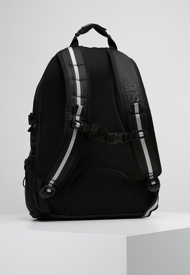 Superdry - LINE TARP BACKPACK - Tagesrucksack - black