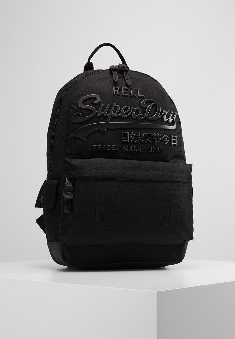 Superdry - PREMIUM GOODS BACKPACK - Sac à dos - black