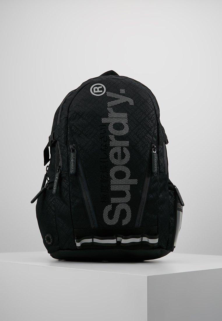 Superdry - HEXLINE TECH TARP BACKPACK - Tagesrucksack - black
