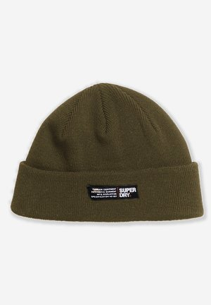 SUPERDRY SKATE LUX BEANIE - Muts - chive