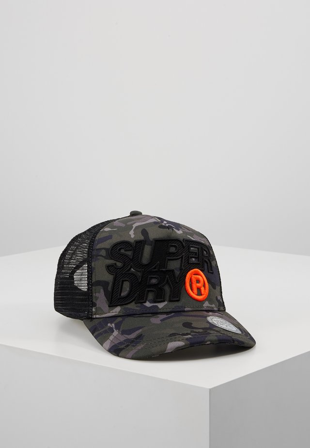 LINEMAN TRUCKER  - Cap - black camo