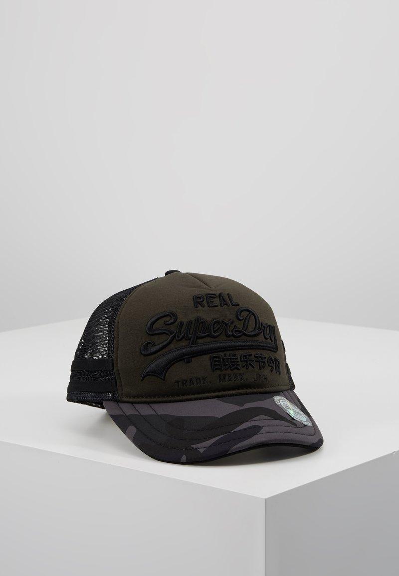 Superdry - PREMIUM GOOD - Caps - army green