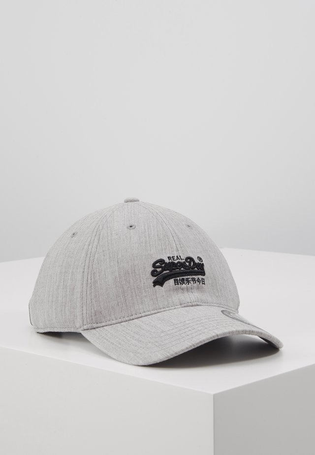 ORANGE LABEL CAP - Cap - grey marl