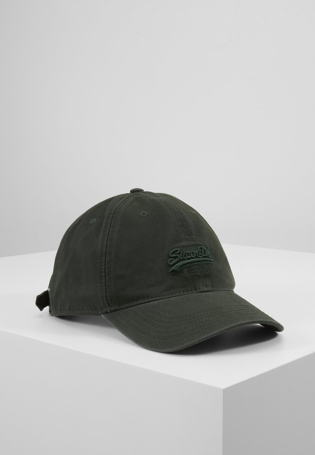 ORANGE LABEL CAP - Czapka z daszkiem - deep forest