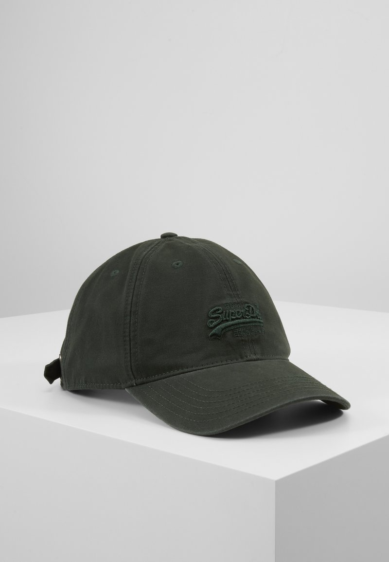 Superdry - ORANGE LABEL CAP - Cap - deep forest