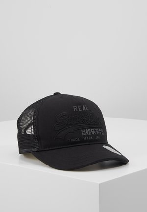 VINTAGE LOGO TRUCKER - Caps - black