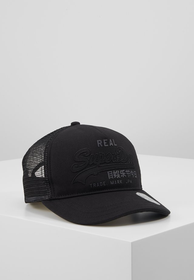 VINTAGE LOGO TRUCKER - Pet - black