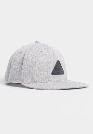 SUPERDRY 6 PANEL TWILL CAP - Caps - grey marl