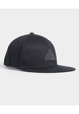 SUPERDRY 6 PANEL TWILL CAP - Keps - black
