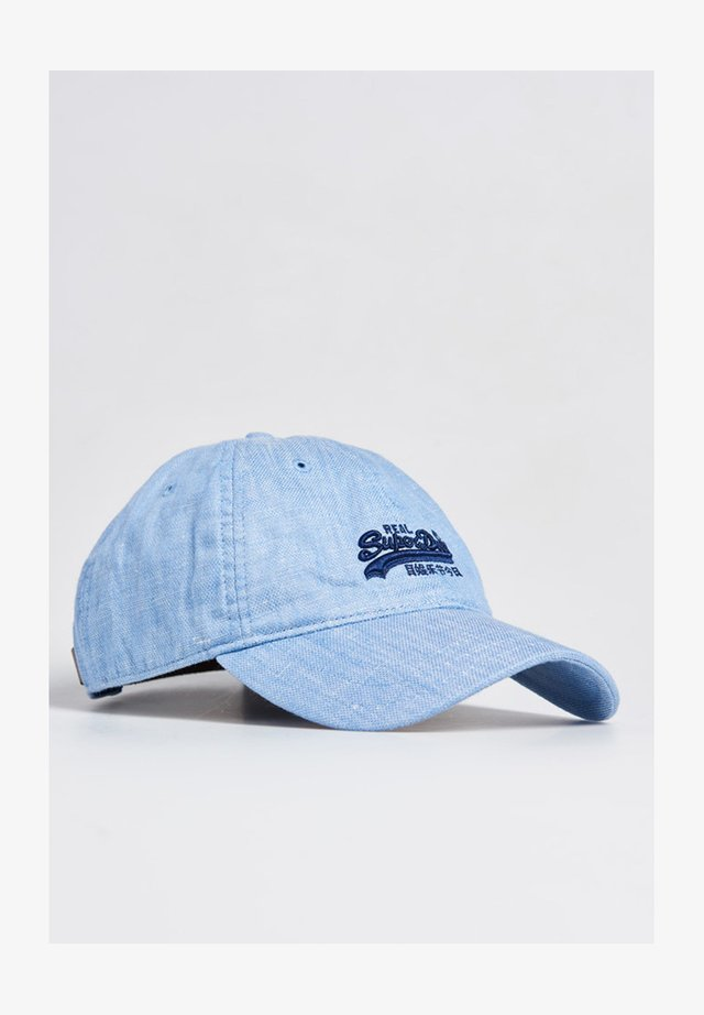 ORANGLE LABEL  - Cap - china blue