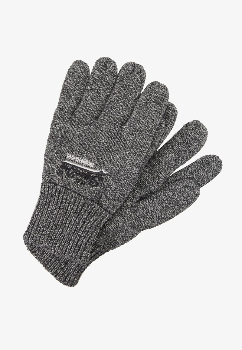 Superdry - ORANGE LABEL GLOVE - Gants - basalt grey grit