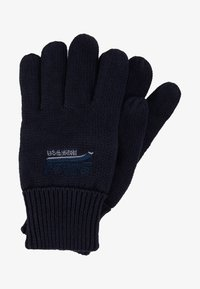 Superdry - ORANGE LABEL GLOVE - Hansker - navy grit - 0
