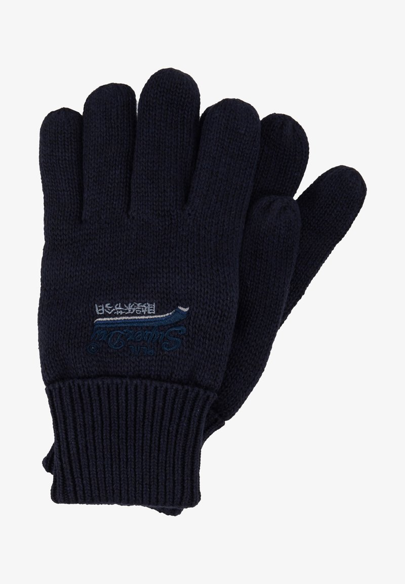 Superdry - ORANGE LABEL GLOVE - Hansker - navy grit