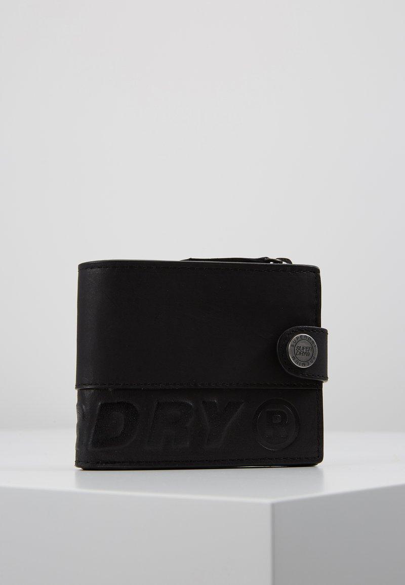 Superdry - PROFILE WALLET IN A TIN - Peněženka - black