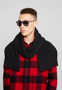 Superdry - JACOB SCARF - Sjal - magma black - 0