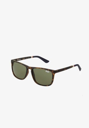 ALUMNI - Sunglasses - matte tort/vintage green