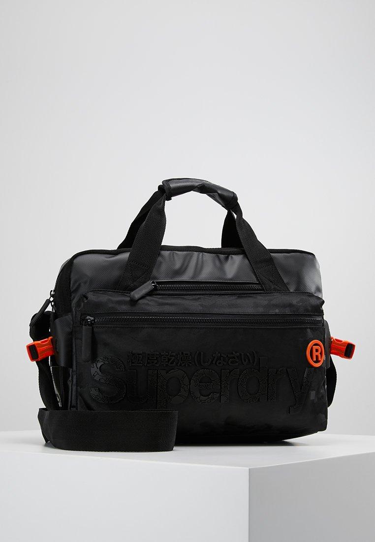 Superdry - FREELOADER LAPTOP BAG - Taška na laptop - black