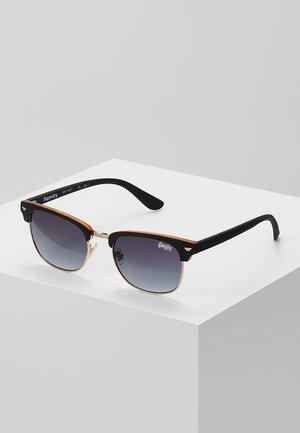 LEO - Okulary przeciwsłoneczne - black/amber